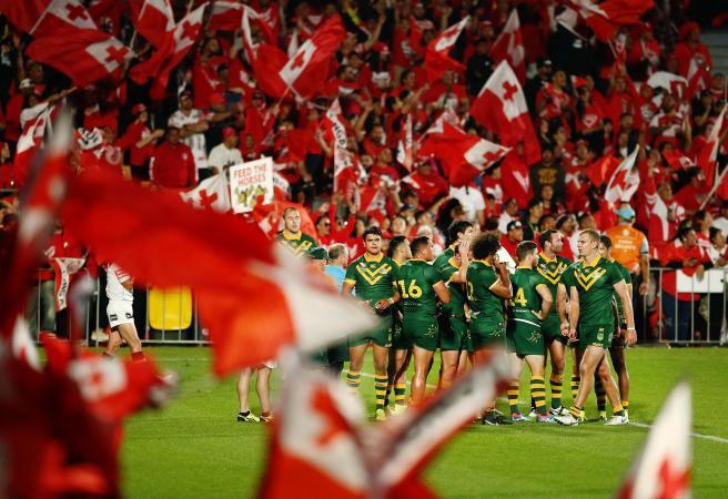 Kangaroos prove too good in historic Tonga Test