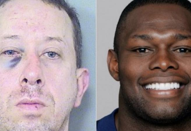 Former NFL player beats up alleged pervert