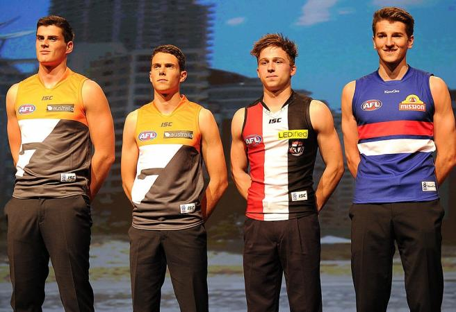 Every top 10 AFL draft selection from 2000 onwards