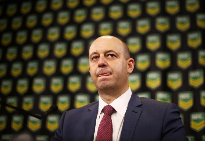 Greenberg Grilled: NRL boss defends bunker in tough radio interview