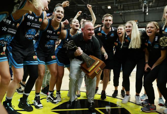 UC Capitals crowned WNBL champions