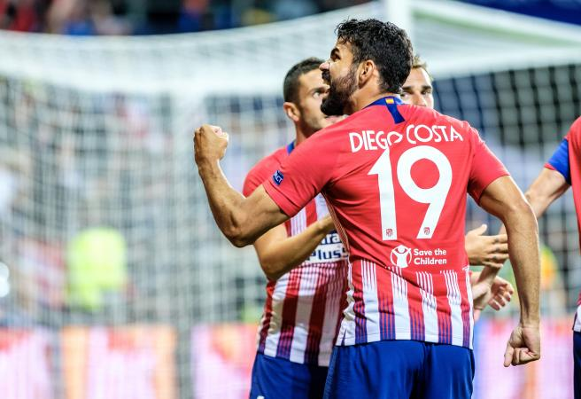 Diego Costa makes Super Cup history