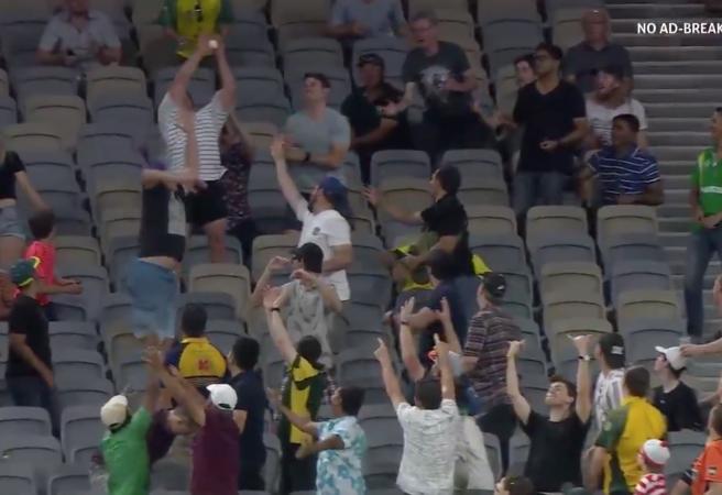 WATCH: The best crowd catch this summer