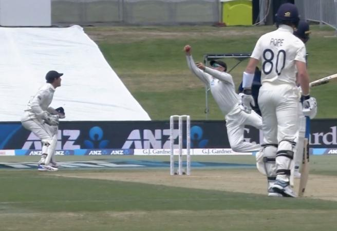 WATCH: Stunning catch denies Ben Stokes a century