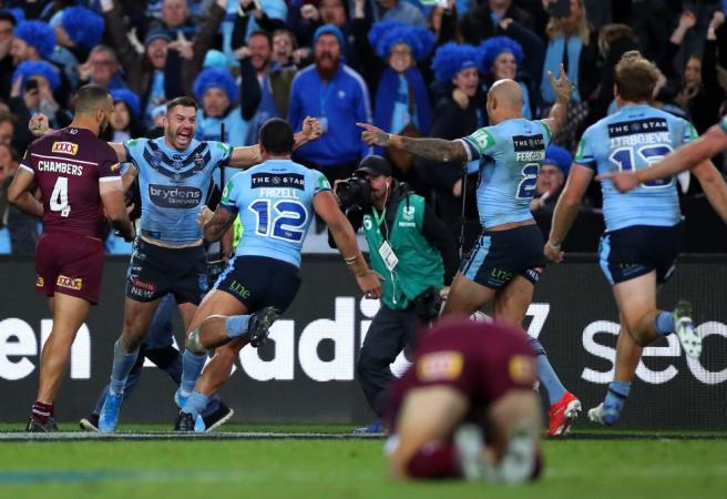 WATCH: NSW wins Origin decider thanks to stunning last-minute try