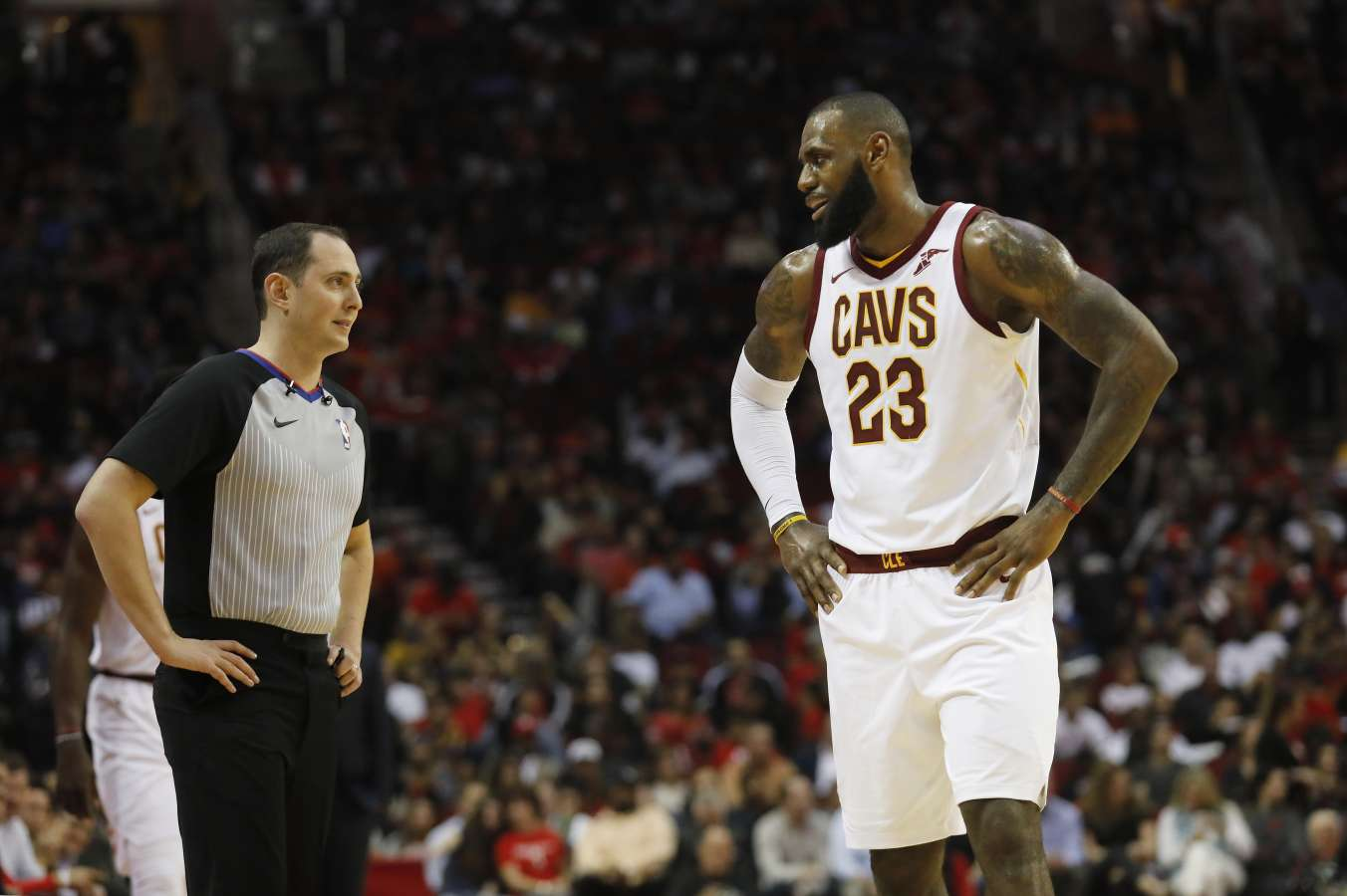 Where will LeBron be next NBA season?