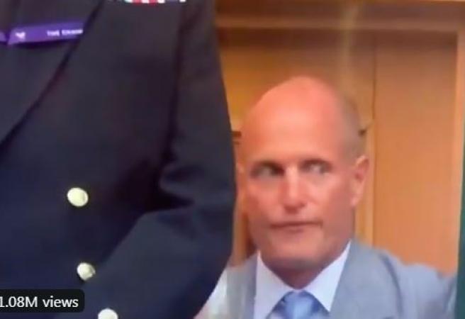 Woody's whacky Wimbledon Watch
