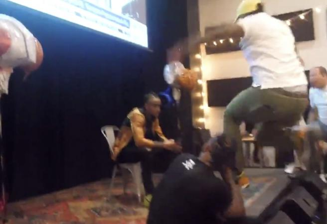 WATCH: Despair to delight at NBA hopeful's Draft party