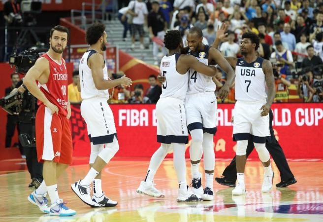 Team USA lucky to escape with victory after Turkey scare