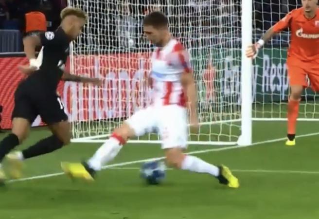 WATCH: Socceroo gets nutmegged by Neymar