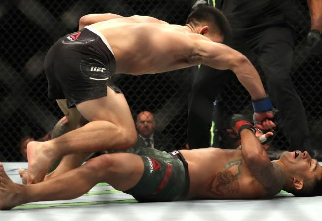 WATCH: UFC 239 rocked by stunning KO