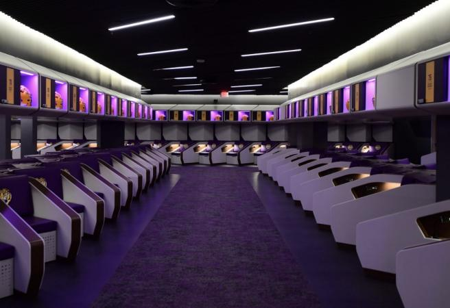 Inside LSU's new USD$28M locker room