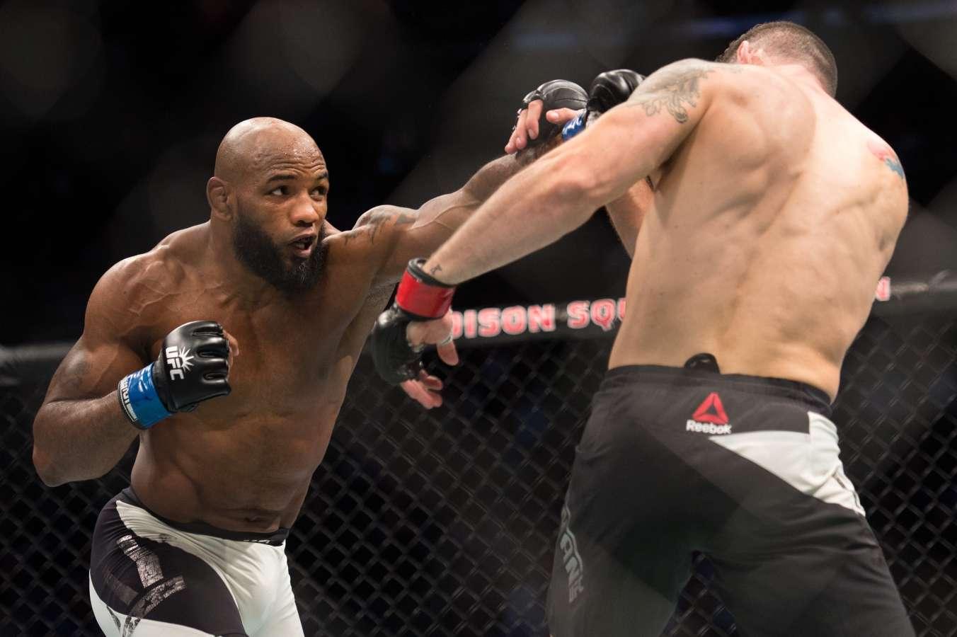 UFC 221: Luke Rockhold vs Yoel Romero