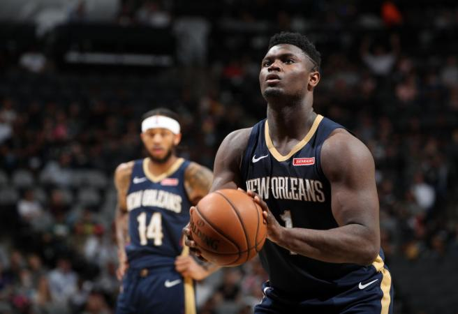 Zion Williamson set for extended stint on sideline