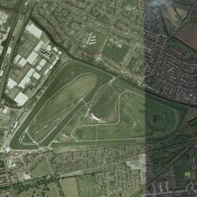 Aintree track map