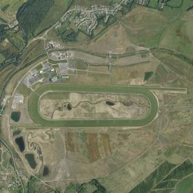 Ffos Las track map