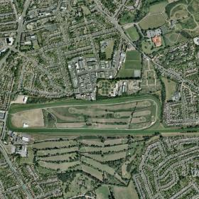Leicester track map
