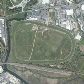 Newton Abbot track map