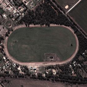 Parkes track map