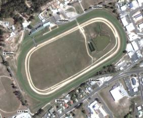 Devonport Tapeta Synthetic track map