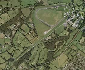 Lingfield track map