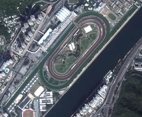 Sha Tin track map