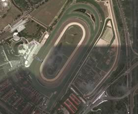 Singapore track map