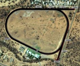 Alice Springs track map