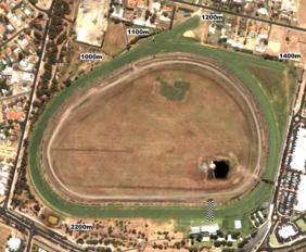 Bunbury track map
