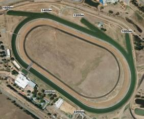 Canberra track map