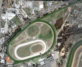 Cranbourne track map