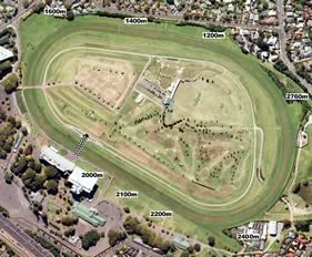 Ellerslie track map