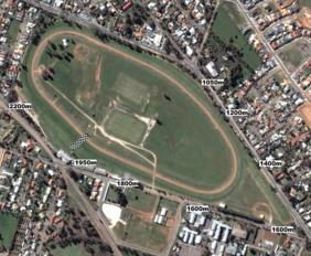 Gawler track map