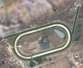 Goulburn track map