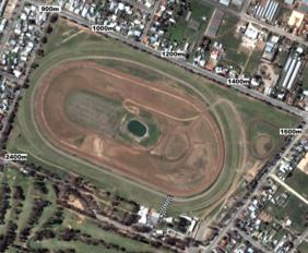 Murray Bridge track map