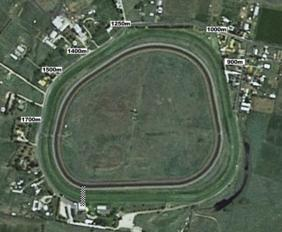 Muswellbrook track map