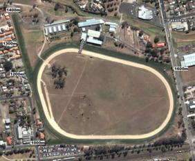 Pakenham track map