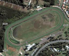 Port Macquarie track map