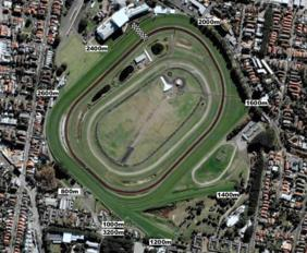 Royal Randwick track map