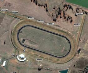 Scone track map