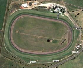 Tamworth track map