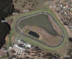 Taree track map