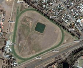 Werribee track map