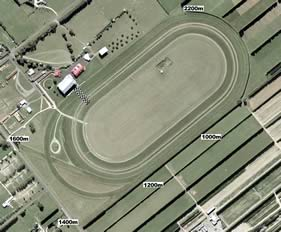 Woodville track map