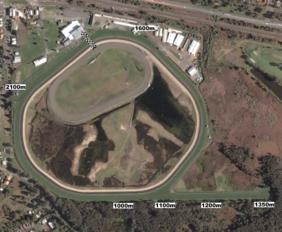 Wyong track map
